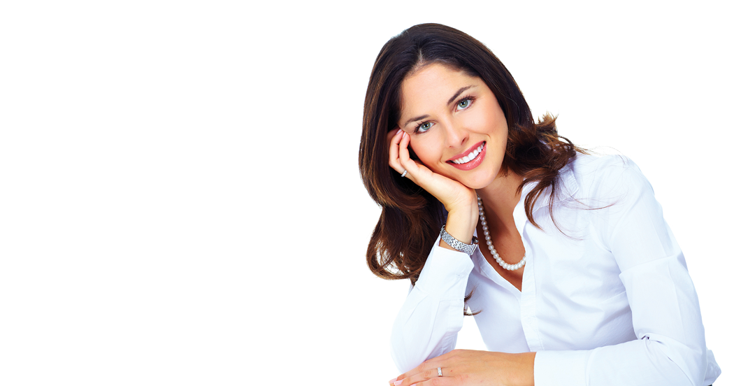 picture of woman smiling